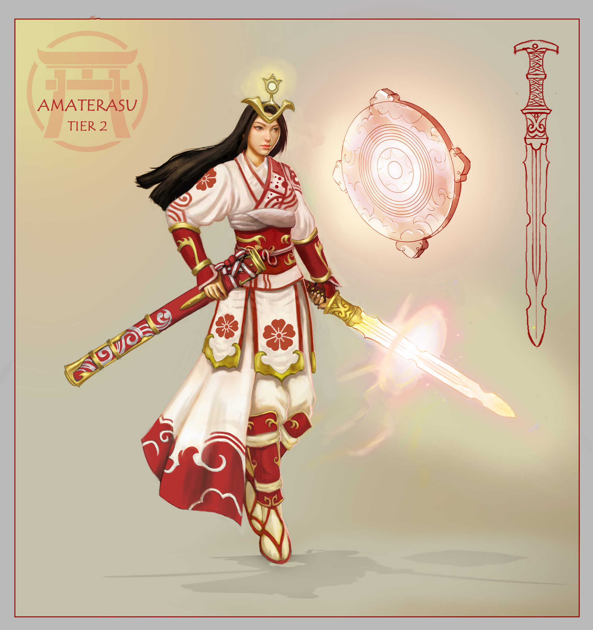 John bridges amaterasu tier2 conceptart