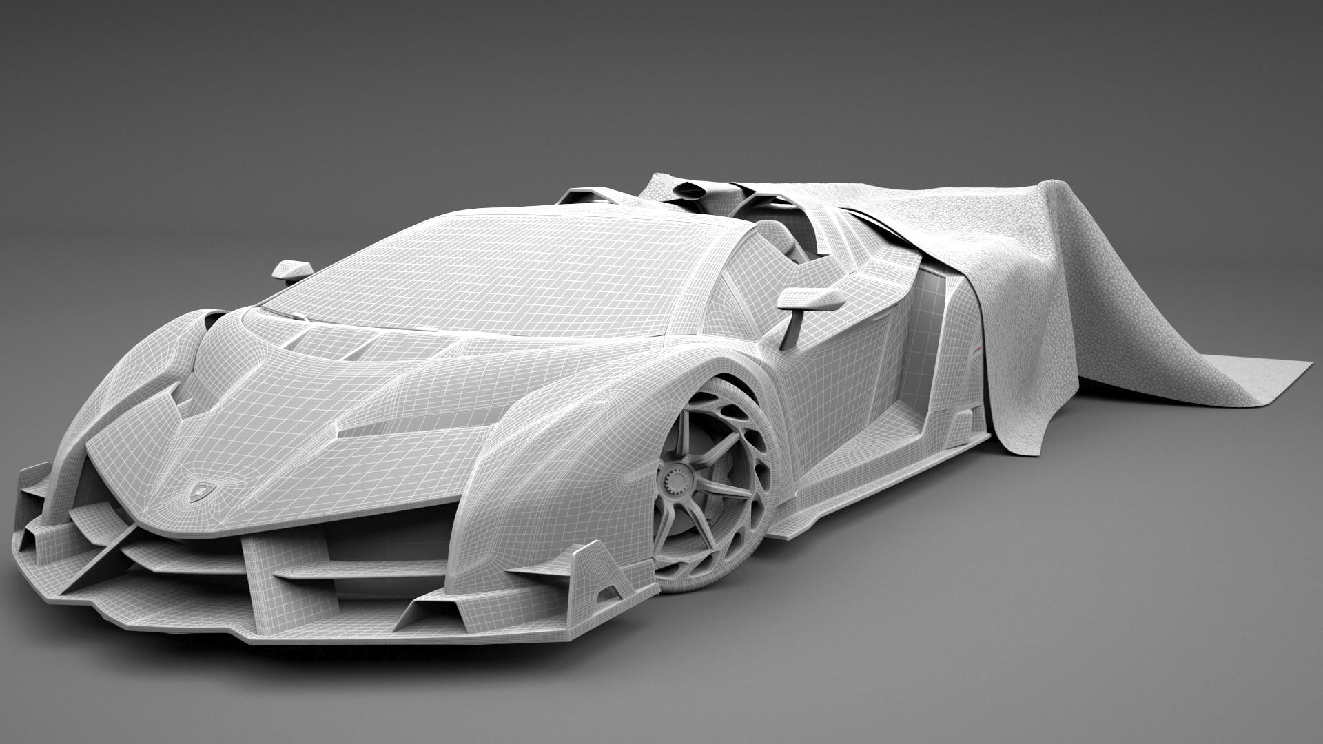 Hugo Matilde Lamborghini Veneno Roadster