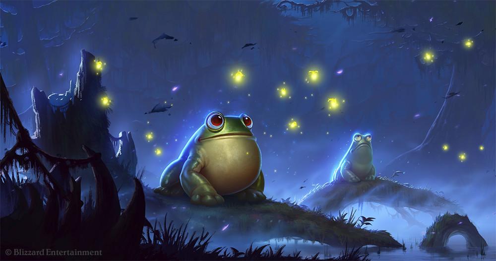 Whisper of the Old Gods Frog