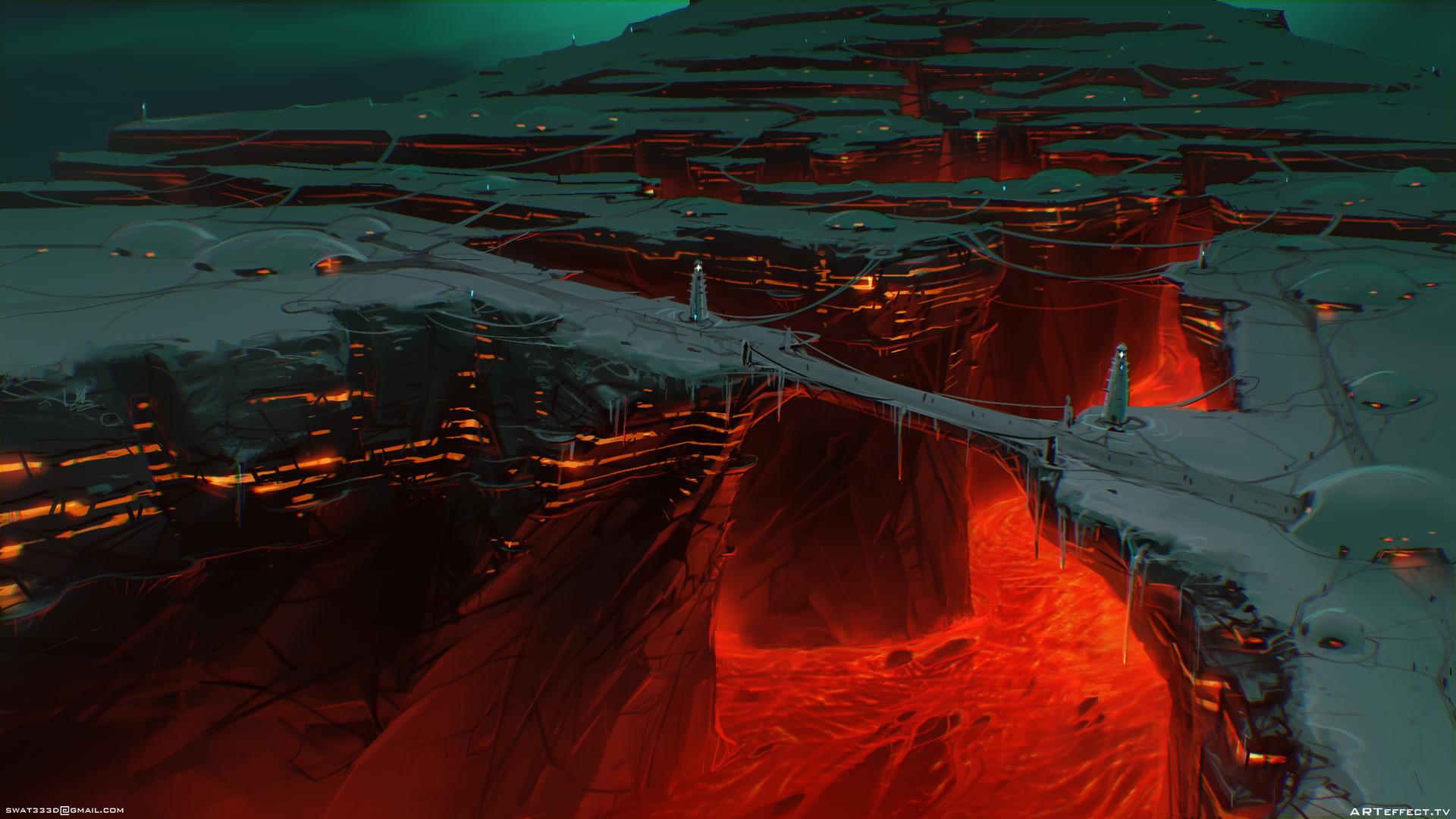 Sviatoslav gerasimchuk lava city
