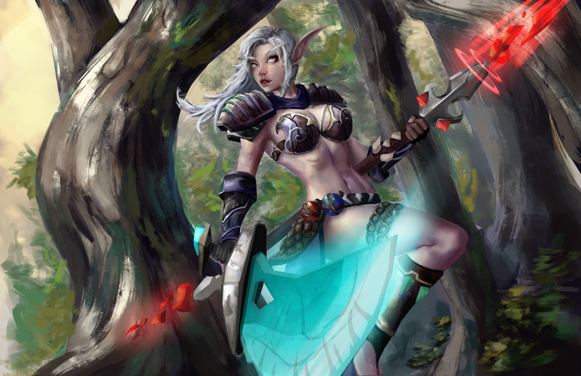 World of warcraft hentai elf porn pictures fucked pics
