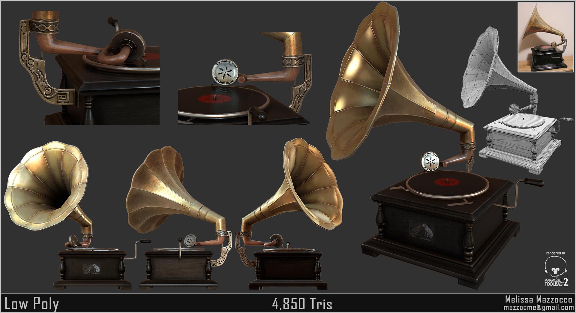 Melissa mazzocco gramophone lp redo