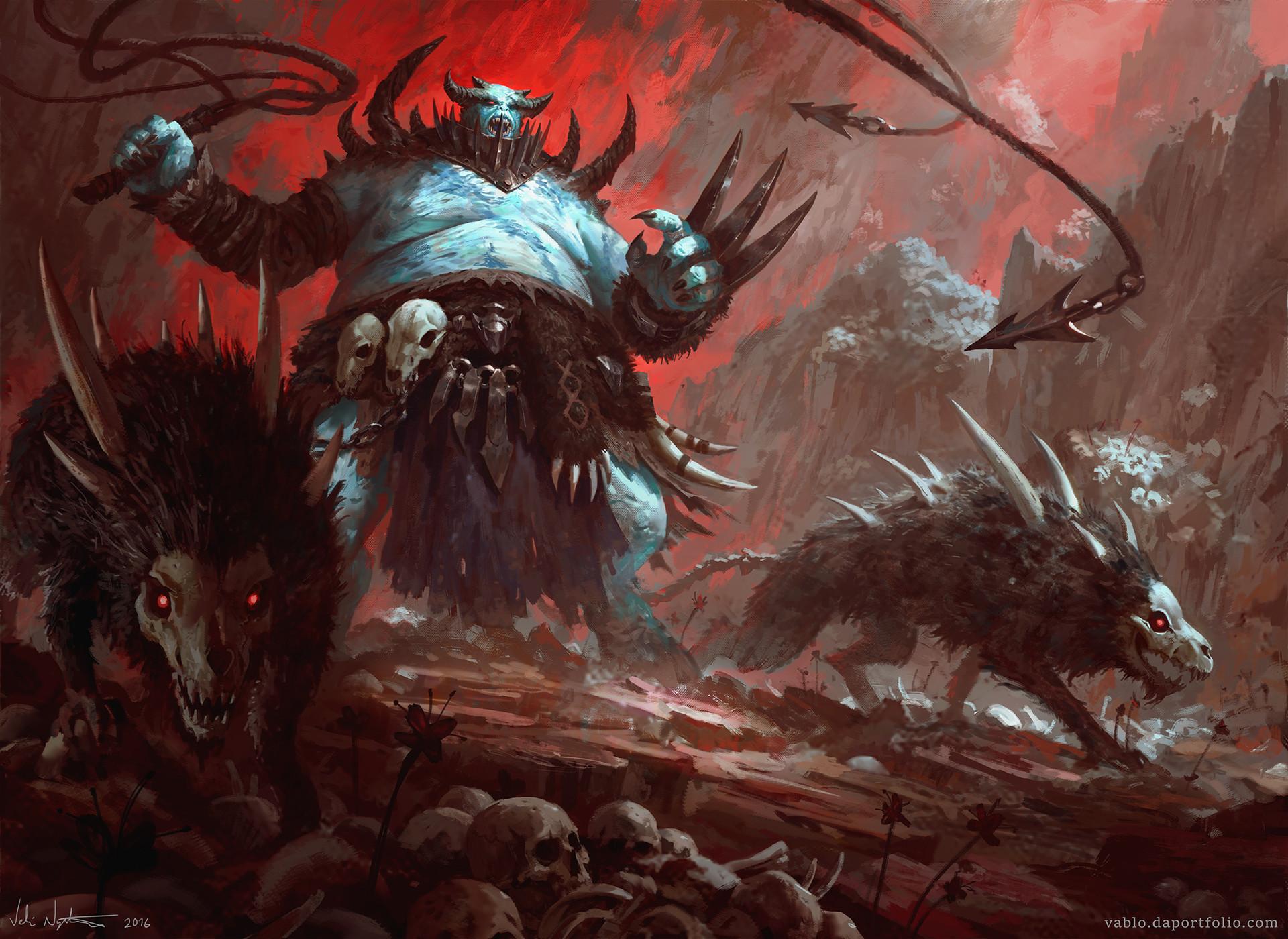Veli nystrom demon beastmaster
