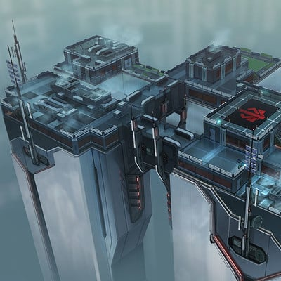 Piero macgowan xcom2 25 rooftop tower a paintover