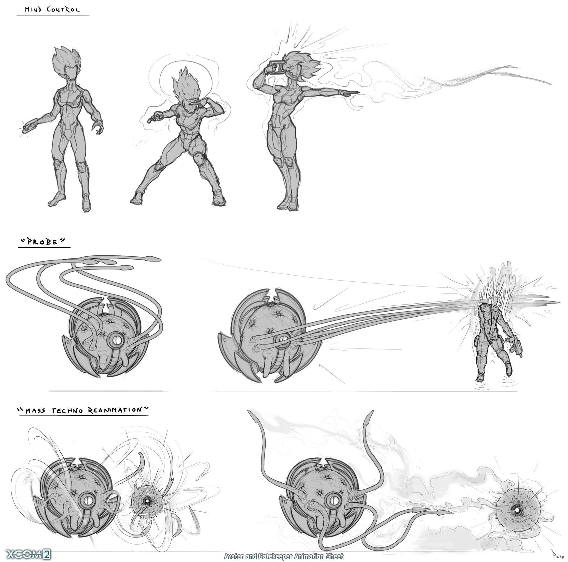 Piero macgowan xcom2 34 psi action sketches piero macgowan