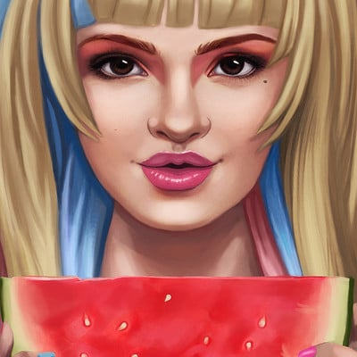 Mary jovino wondrous watermelon