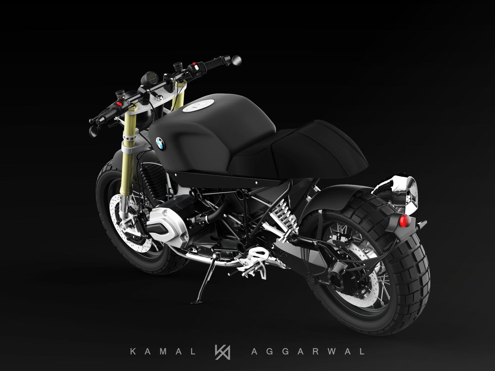 kamal aggarwal - BMW R1200R CUSTOM BIKE