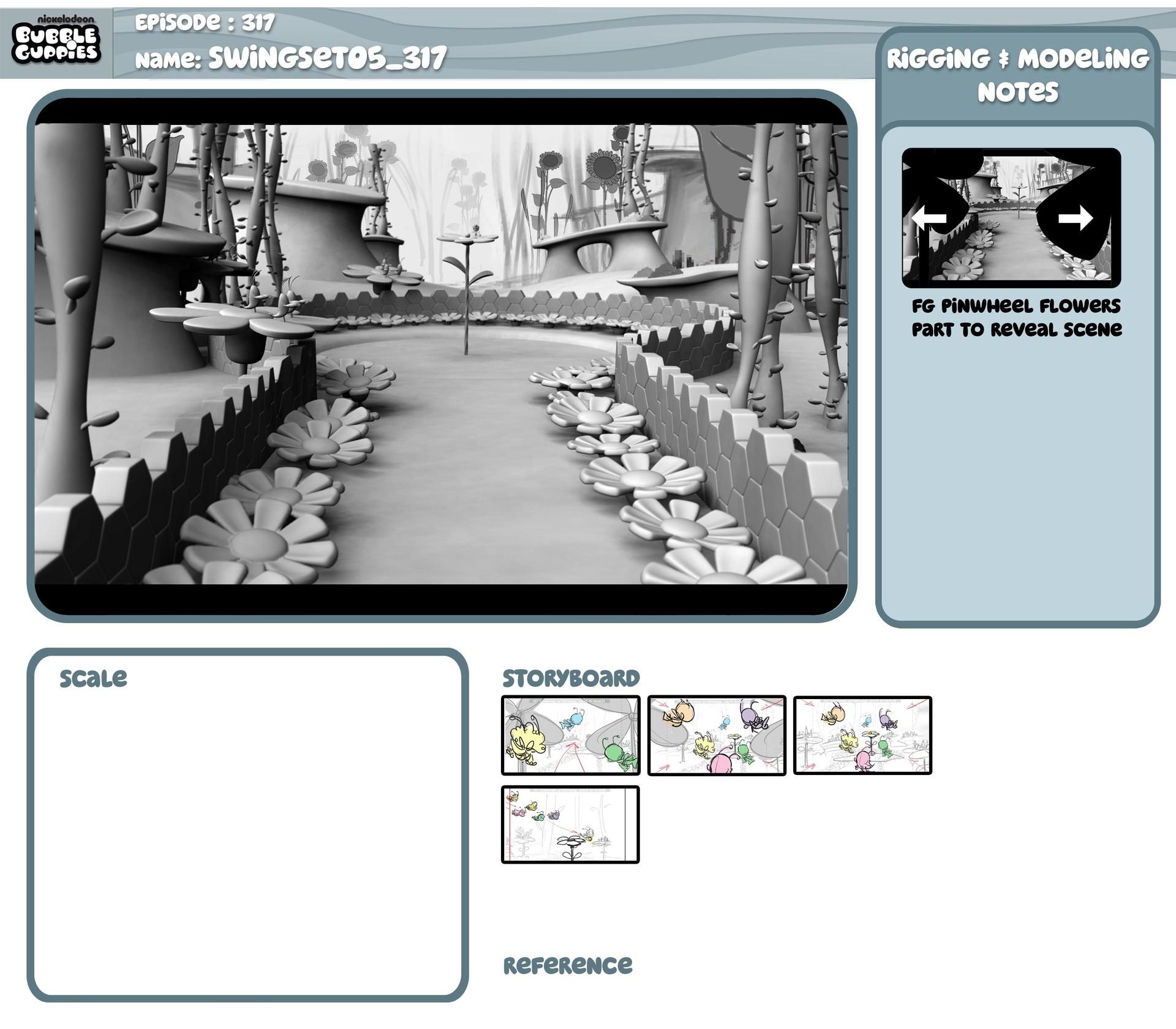 ArtStation - Various Set Designs for Bubble Guppies season 3