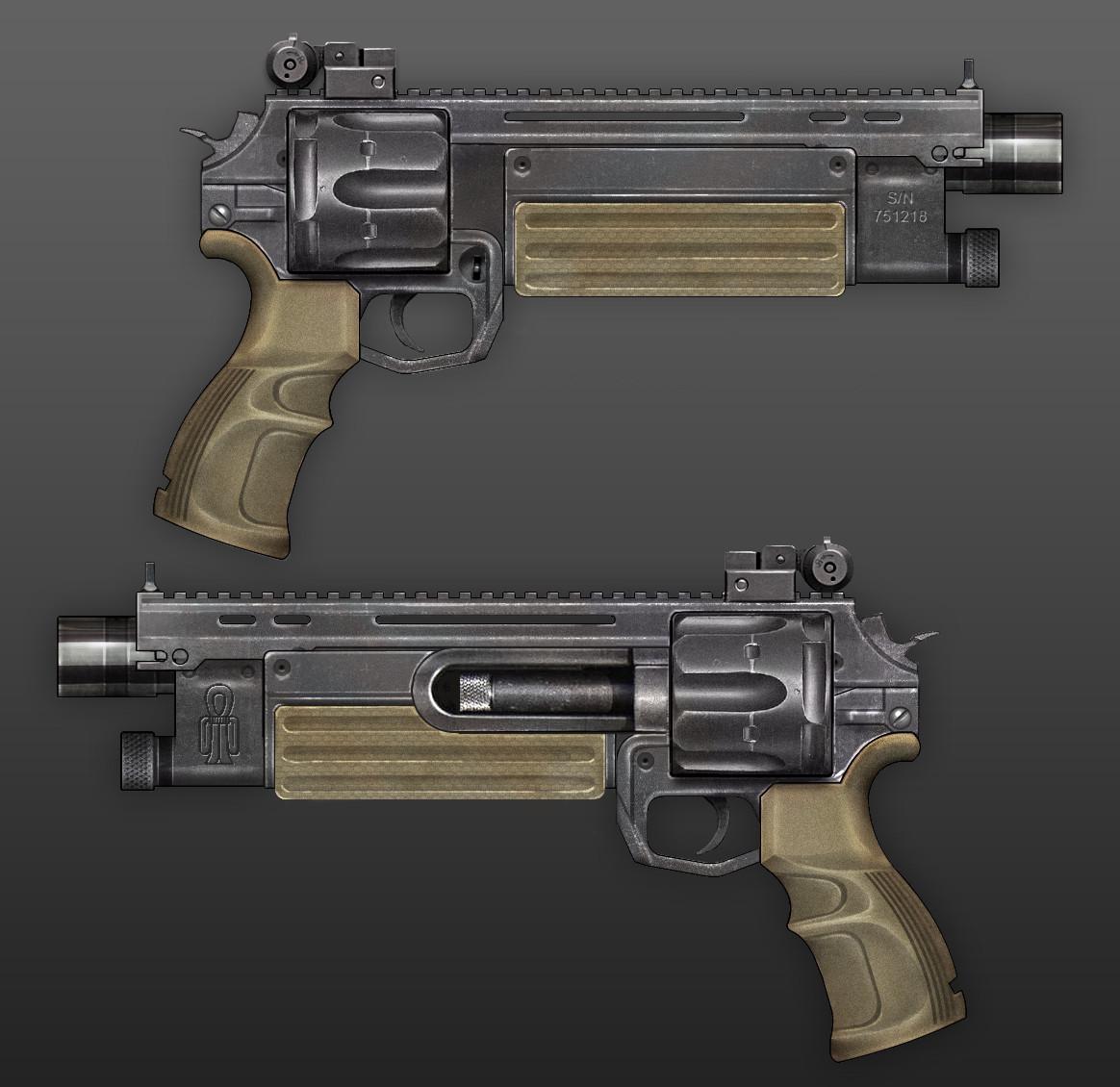 Fito Mojica - Old Stuff - Futuristic Revolver - 2011