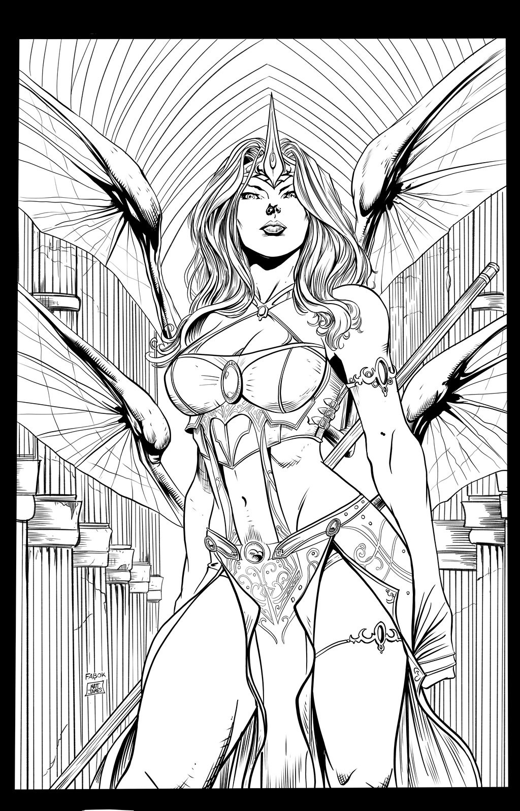 Matt james jason fabok soulfire 2 cover wondercon11 by mattjamescomicarts da0l3vr