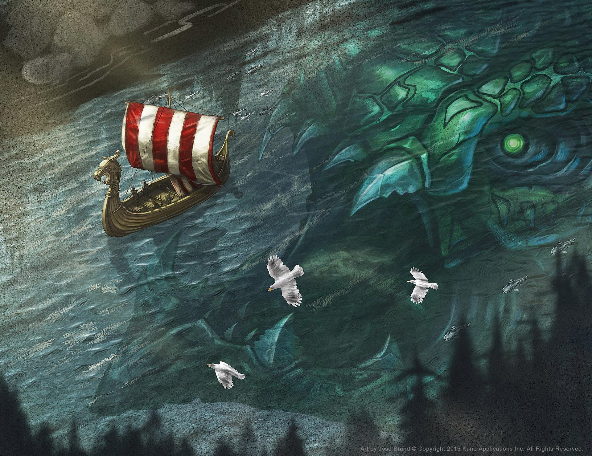 artstation viking clan boss hafgufa jose brand