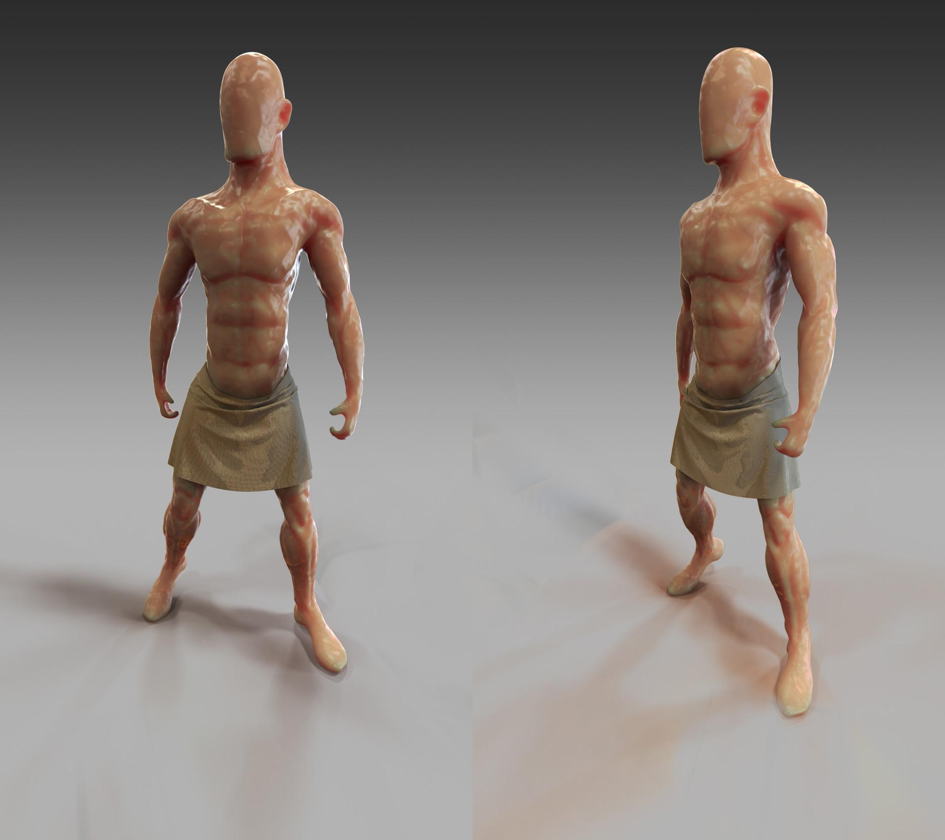 Leo GEORGES - Anatomy men