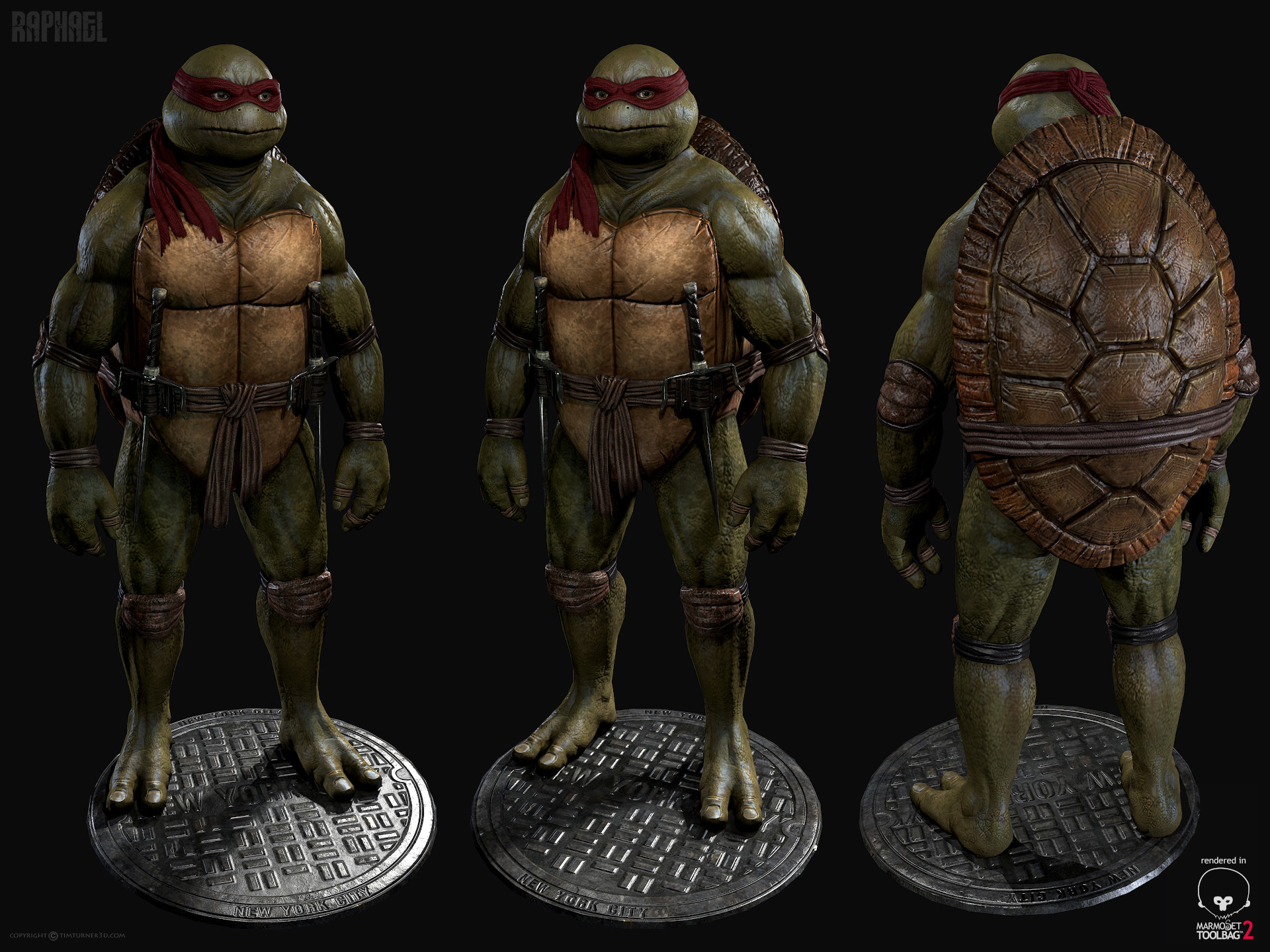 Tim turner 3d raph toolbag