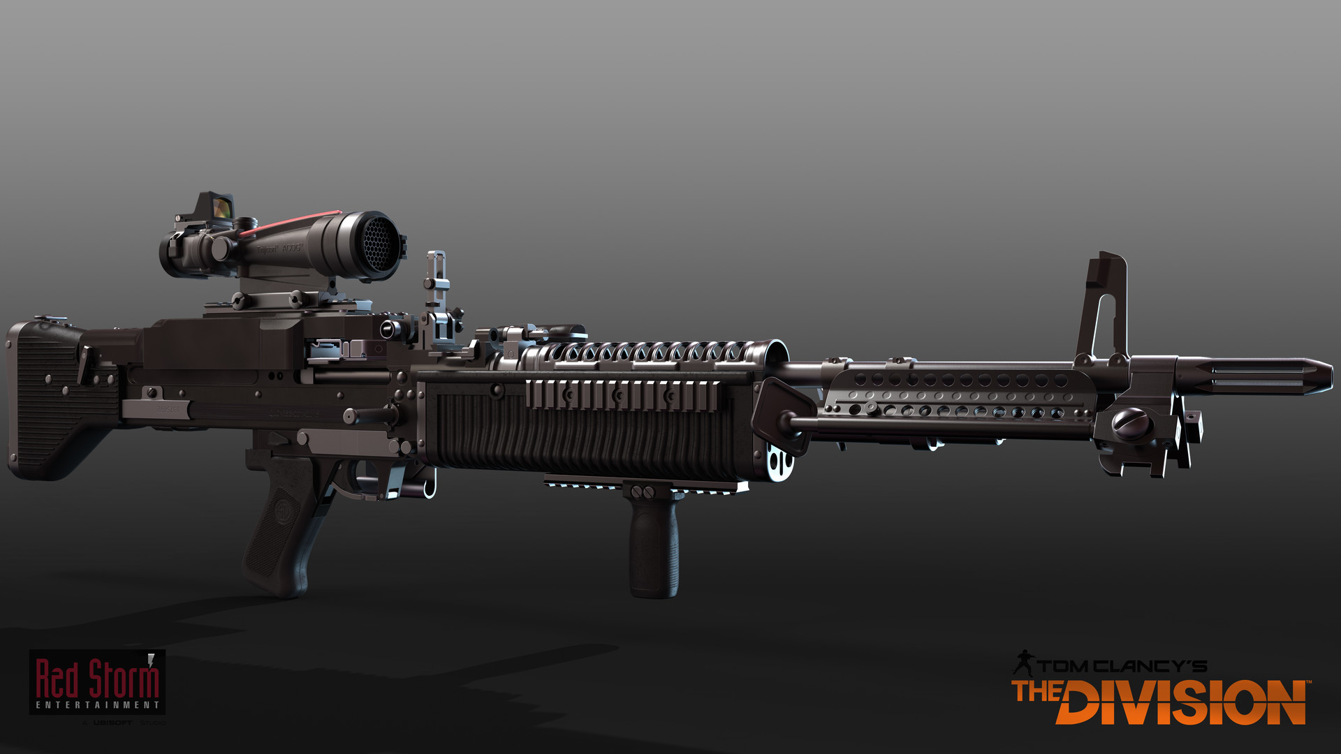 ArtStation - Tom Clancy's The Division - M60 LMG, Mike Climer