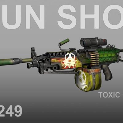 John kapur m249 toxic