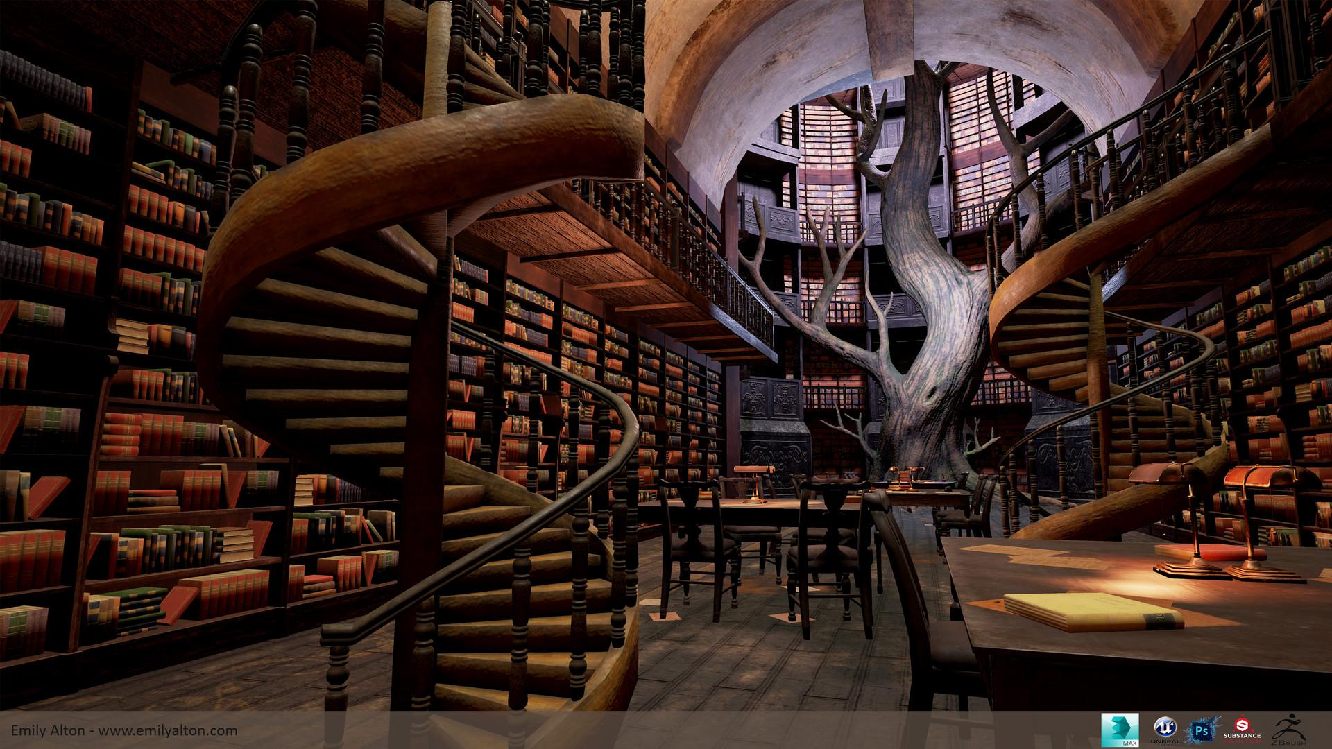 Emily Alton - Fantasy Library