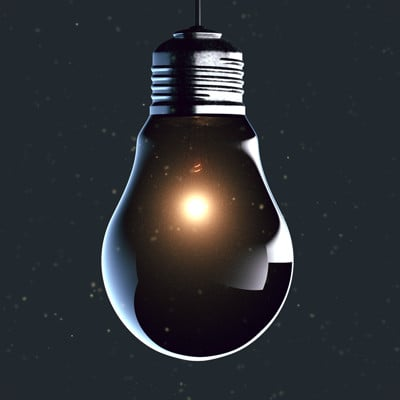 Chris ebbinger lightbulb wallpaper