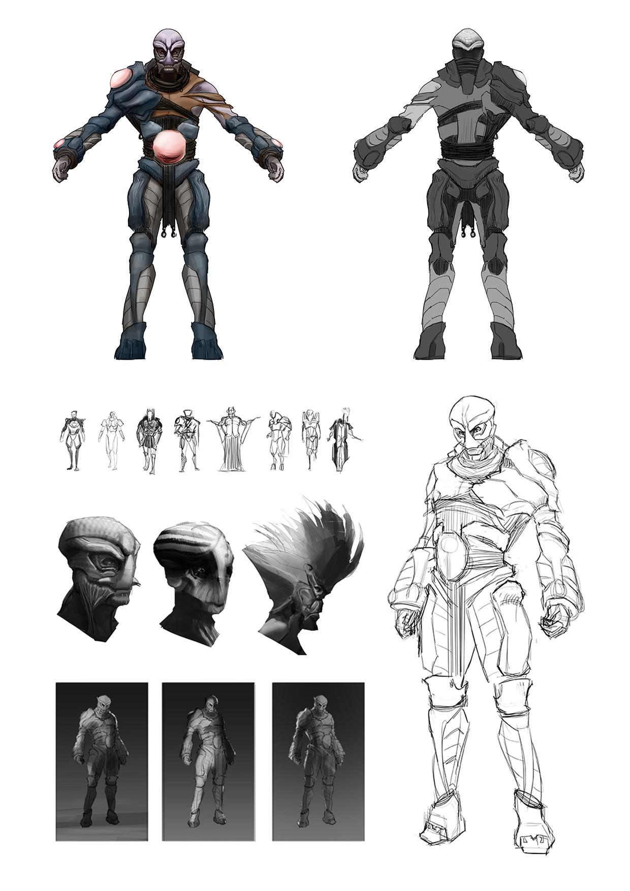 Chris leenheer alientribalwarrior01
