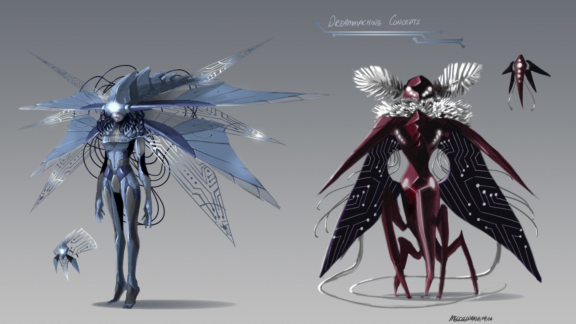 Scroll to see more & ArtStation - Dreammachine Concepts Meggie Wang