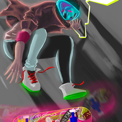 Marcos mansur skate