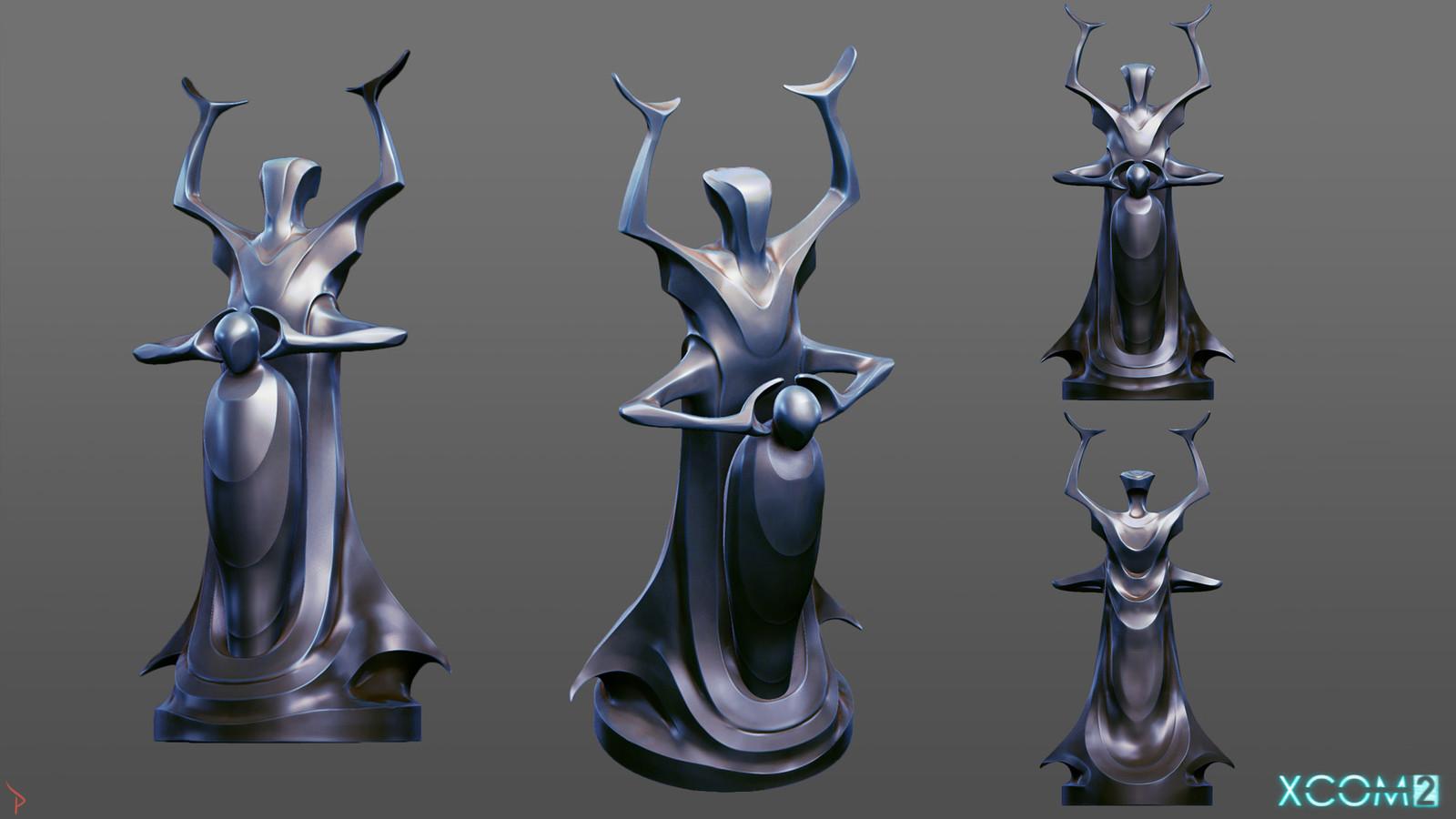 """Elder"" Statue concept 2"