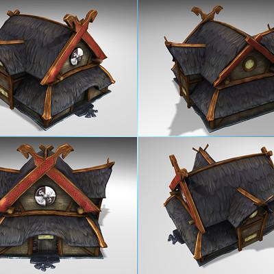 Lloyd chidgzey large viking house