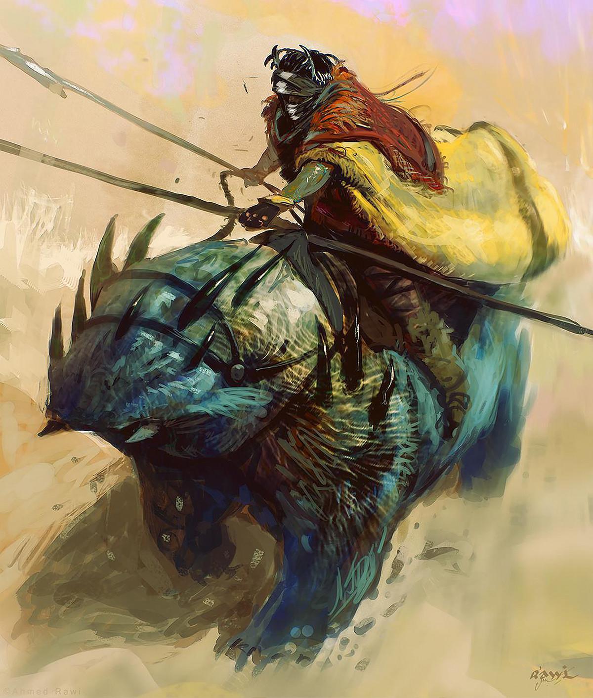 Ahmed rawi desert riding