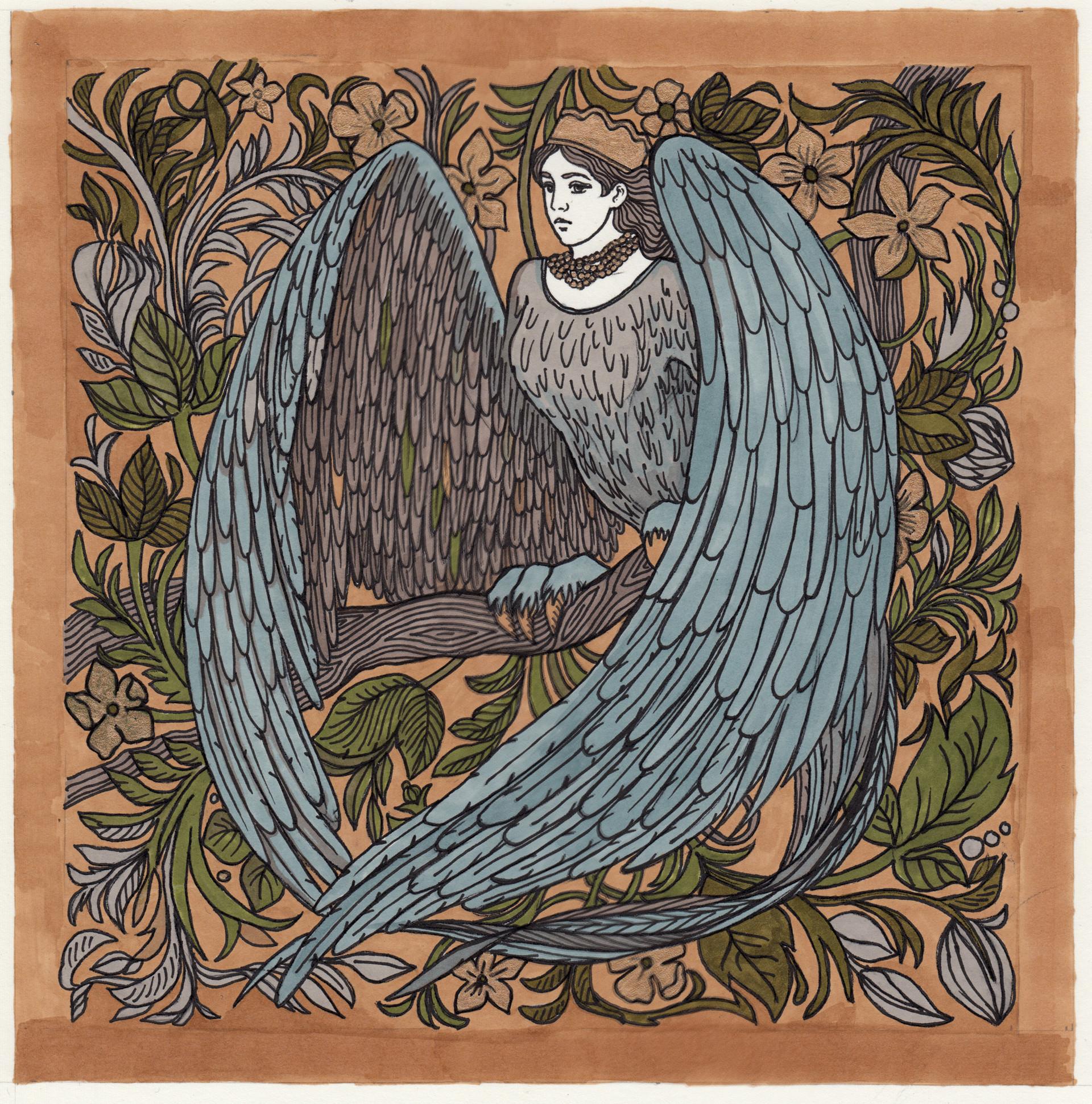 птица в славянской мифологии сирин картинка нашей