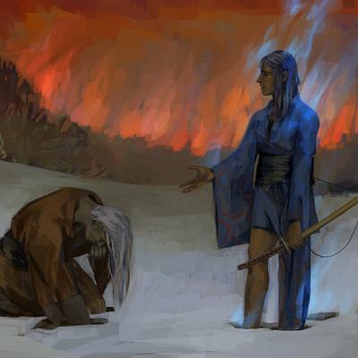 Fire of war