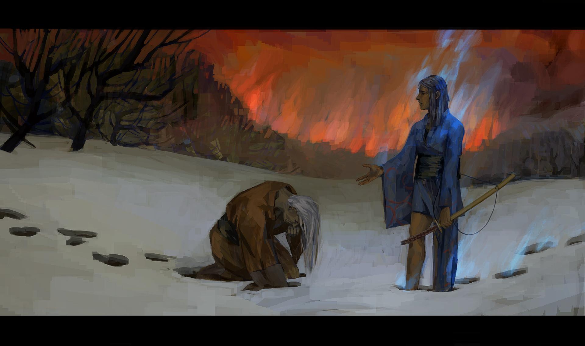 Korina hunjak fire of war small