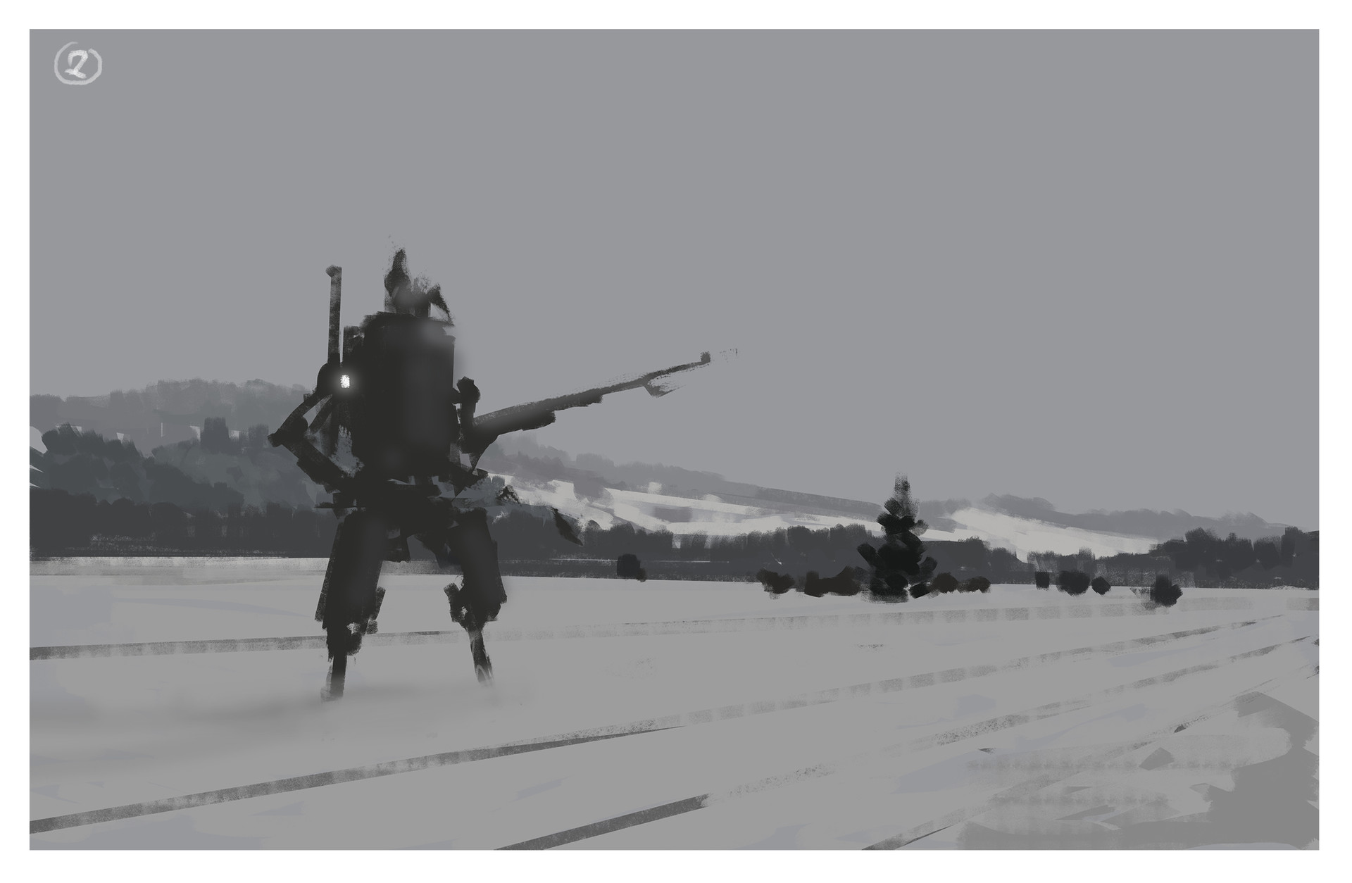 Jakub rozalski work proces watch02