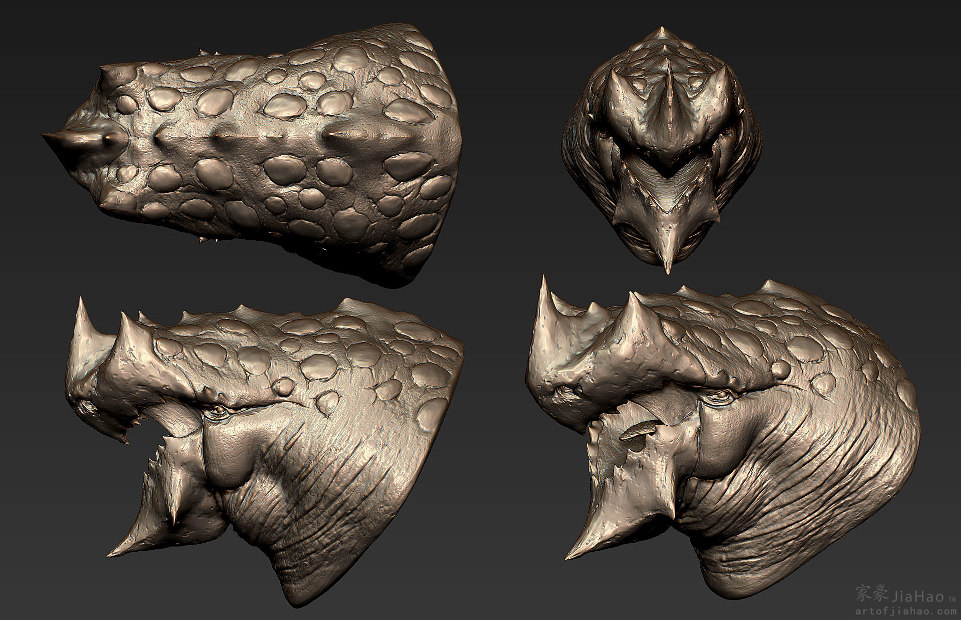 Jia hao 2016 04 toughbeak presentationzbrush