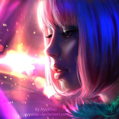 Ayya saparniyazova pink space by ayyasap