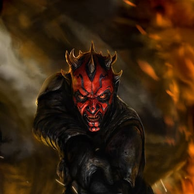 Chris scalf darth maul son of dathomir 1 by chrisscalf d71sy64
