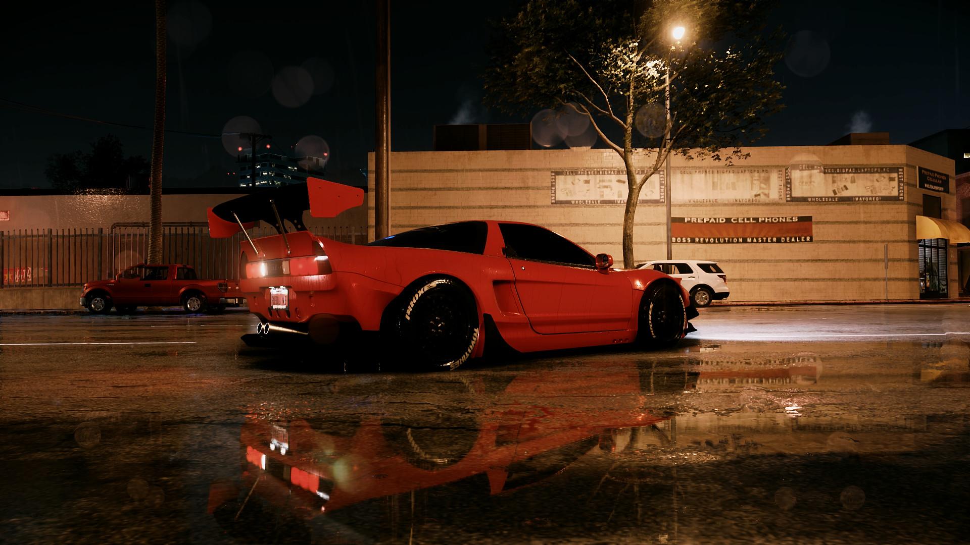 Arcade Racer (Max Povzhyk) - Honda NSX coated in Tra-Kyoto
