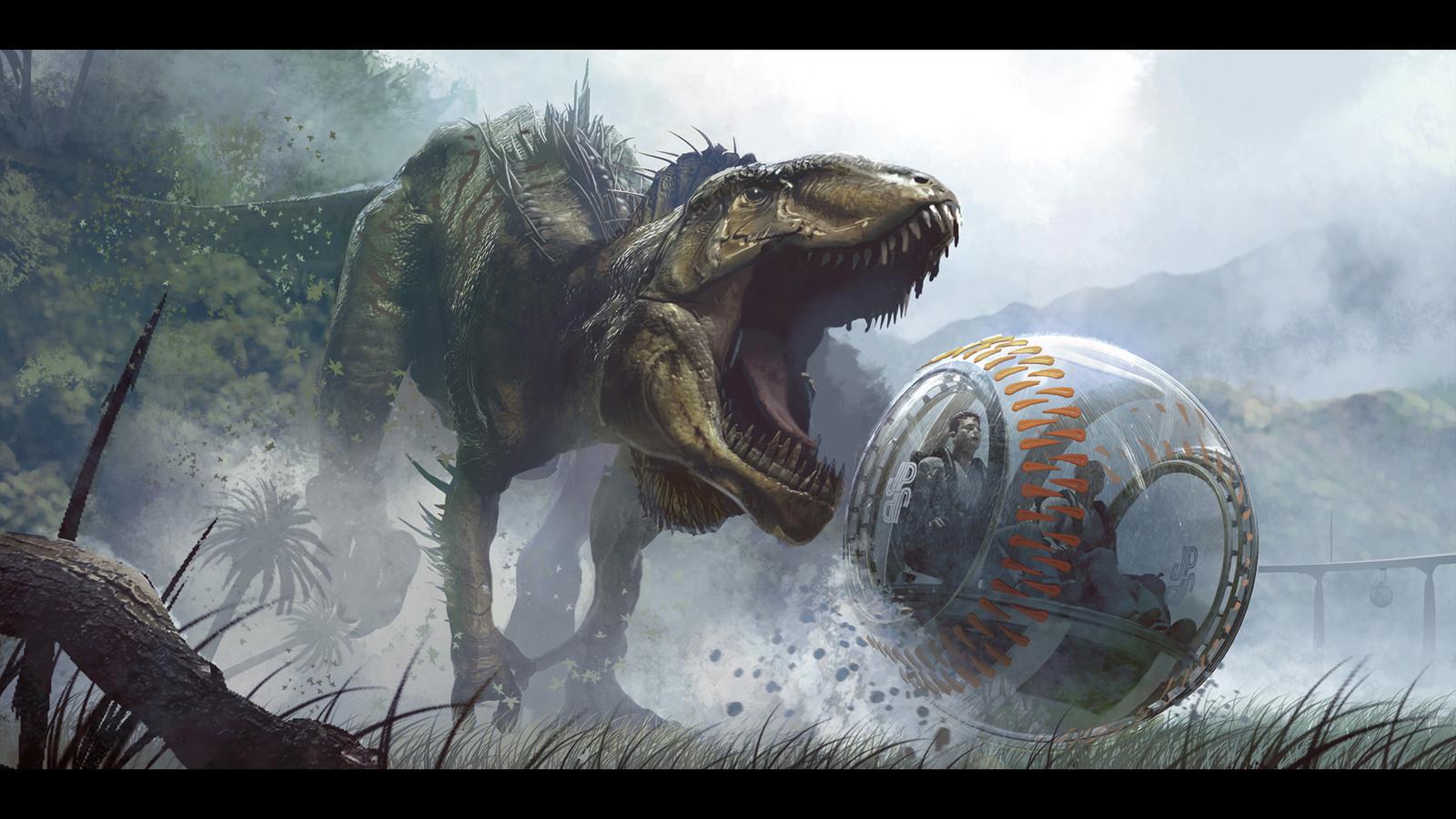Jurassic World: Indominus Rex Pursuit