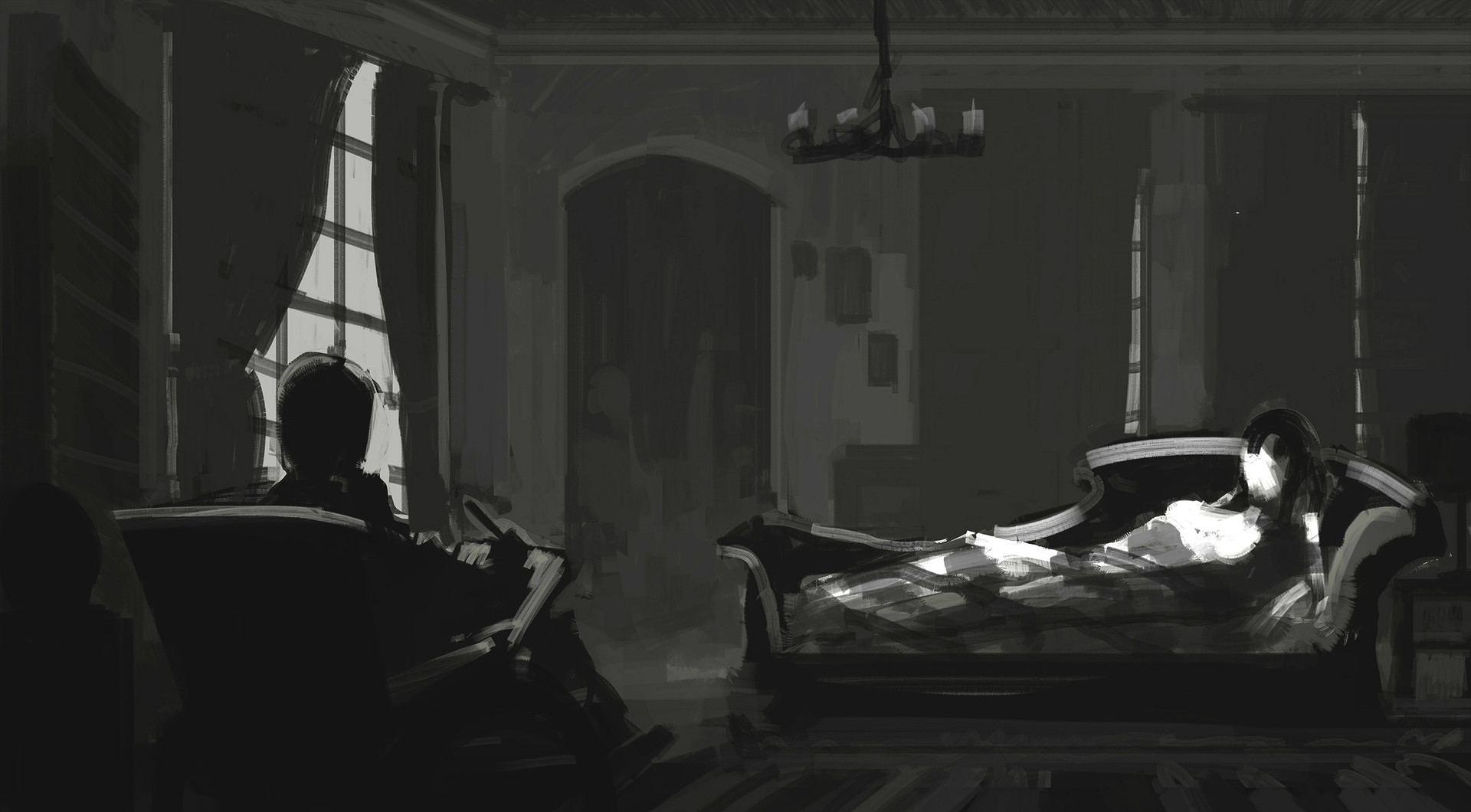 Jack eaves artists apartment sketch