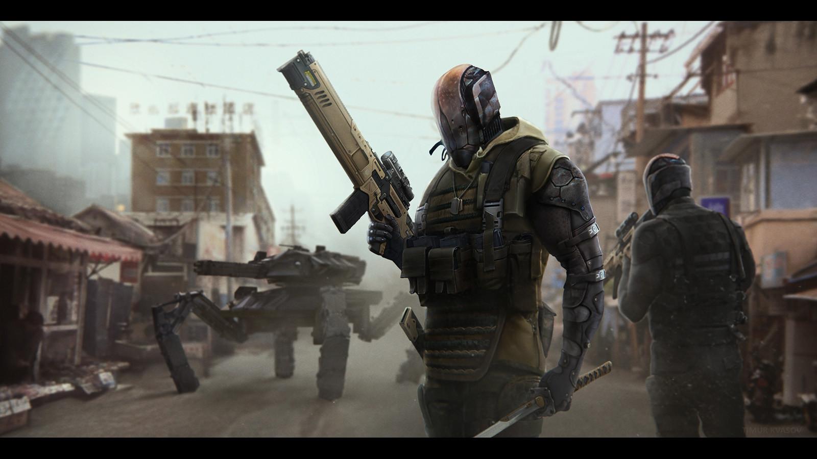 Timur kvasov slum patrol