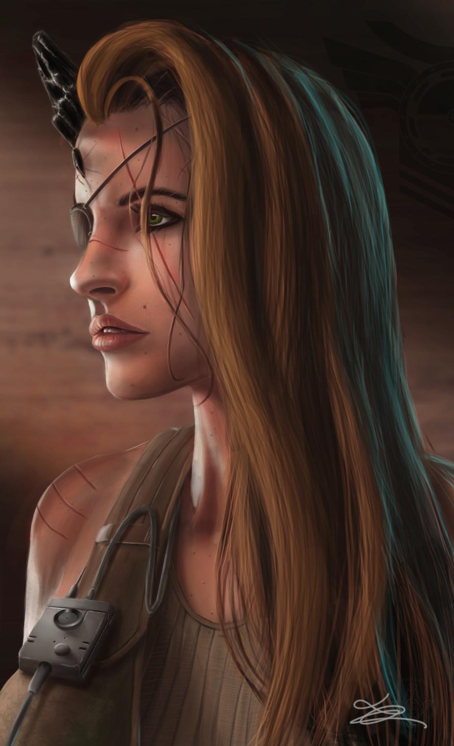 Artstation Metal Gear Solid 5 She Big Boss Variant Luc
