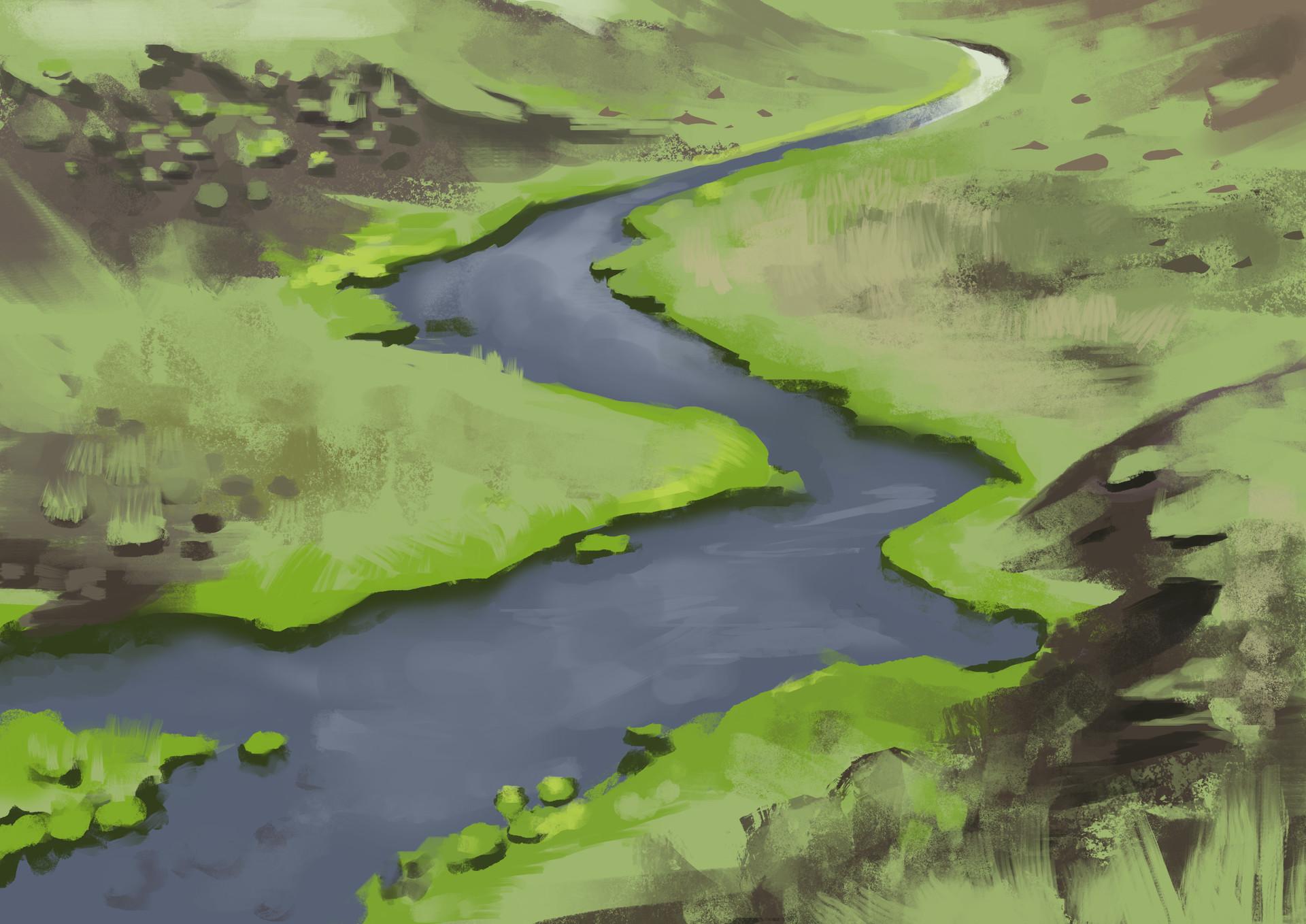 Subhelic river