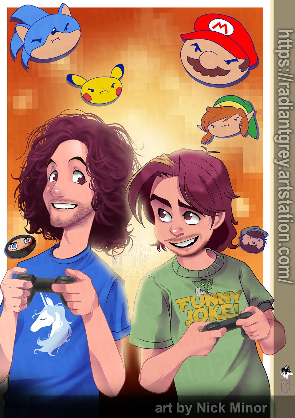 Nick minor game grumps web