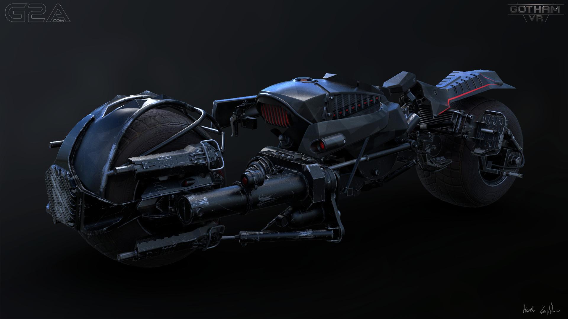 Bike for Gotham VR - G2A Land