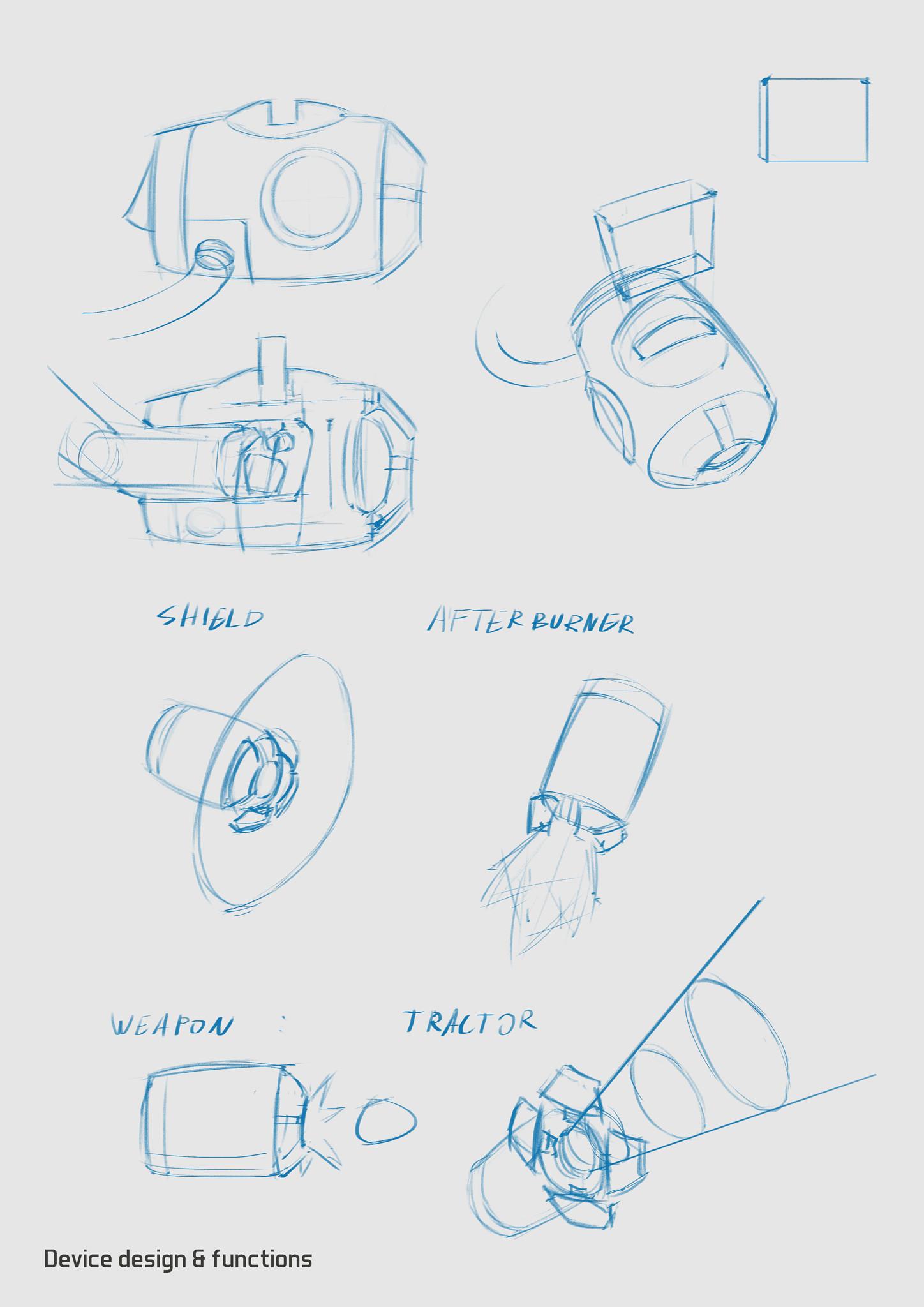 Eyal degabli scavenger 08 device