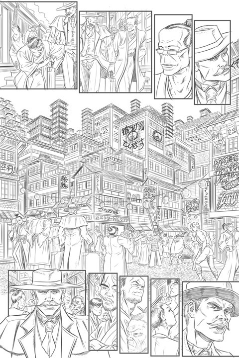 Spike o laochdha gs 03x03 pencils