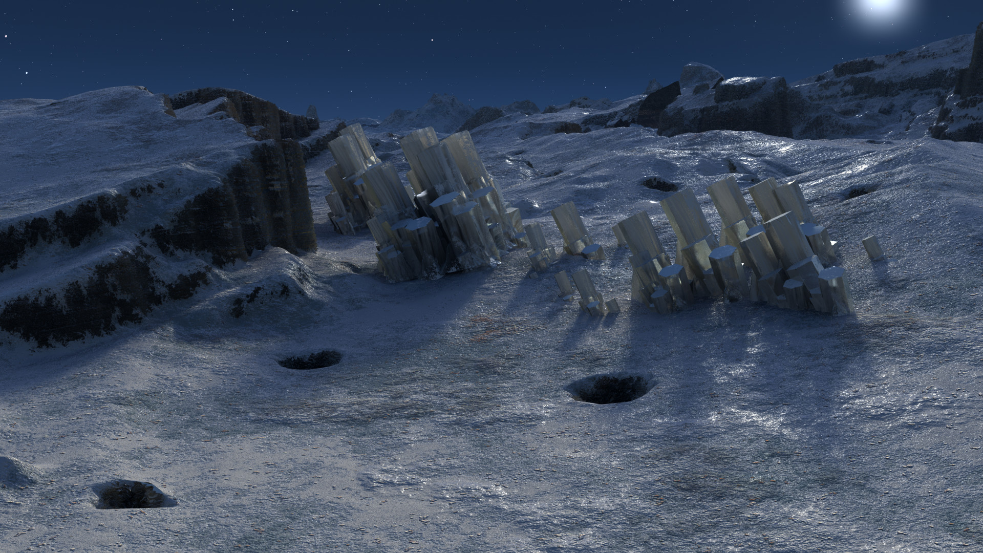 Early render test of textures.