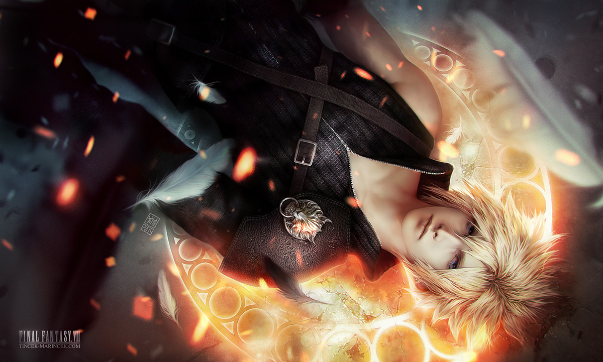 Valentina remenar cloud strife by valentina remenar