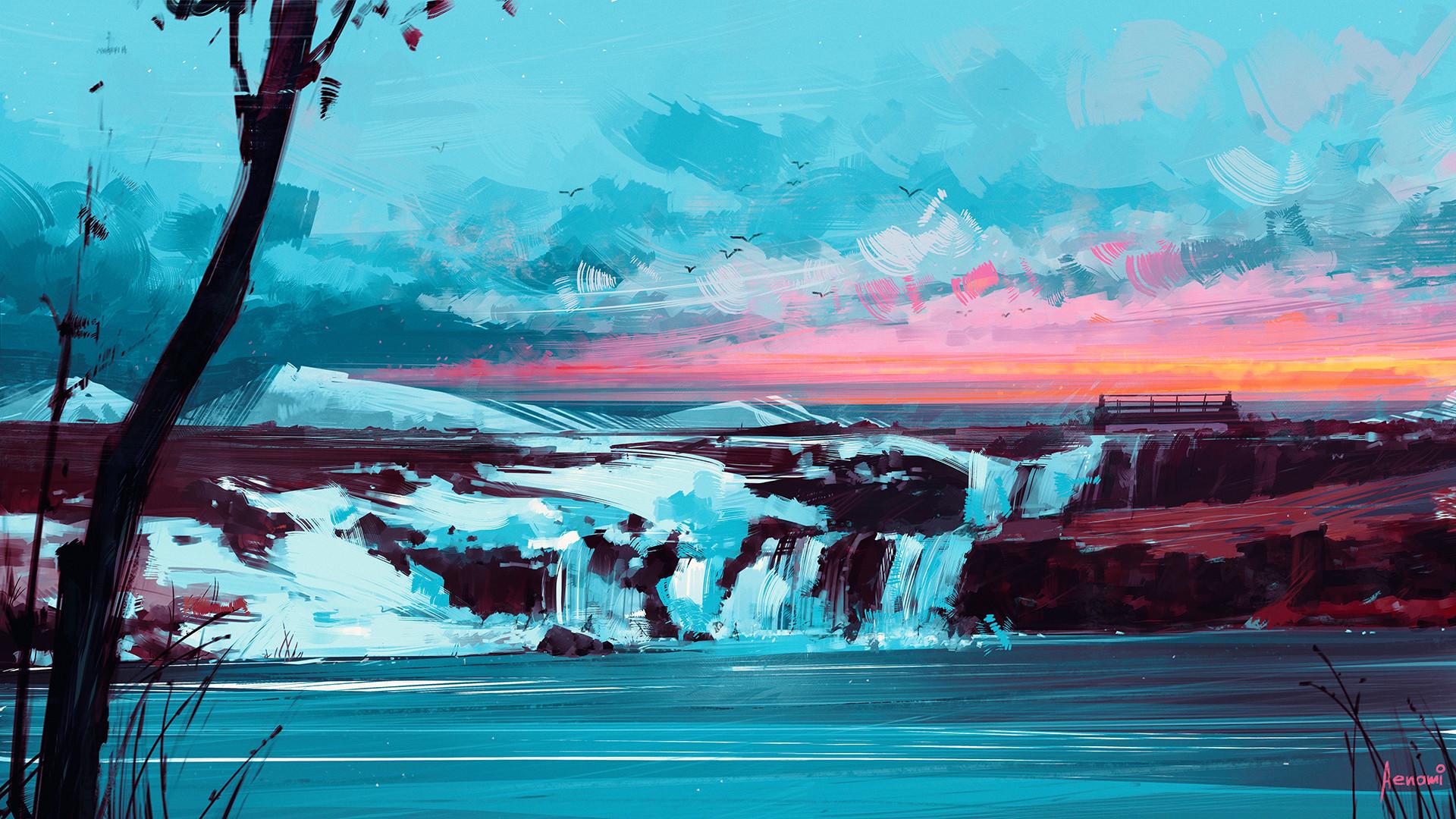 Alena aenami ice1920