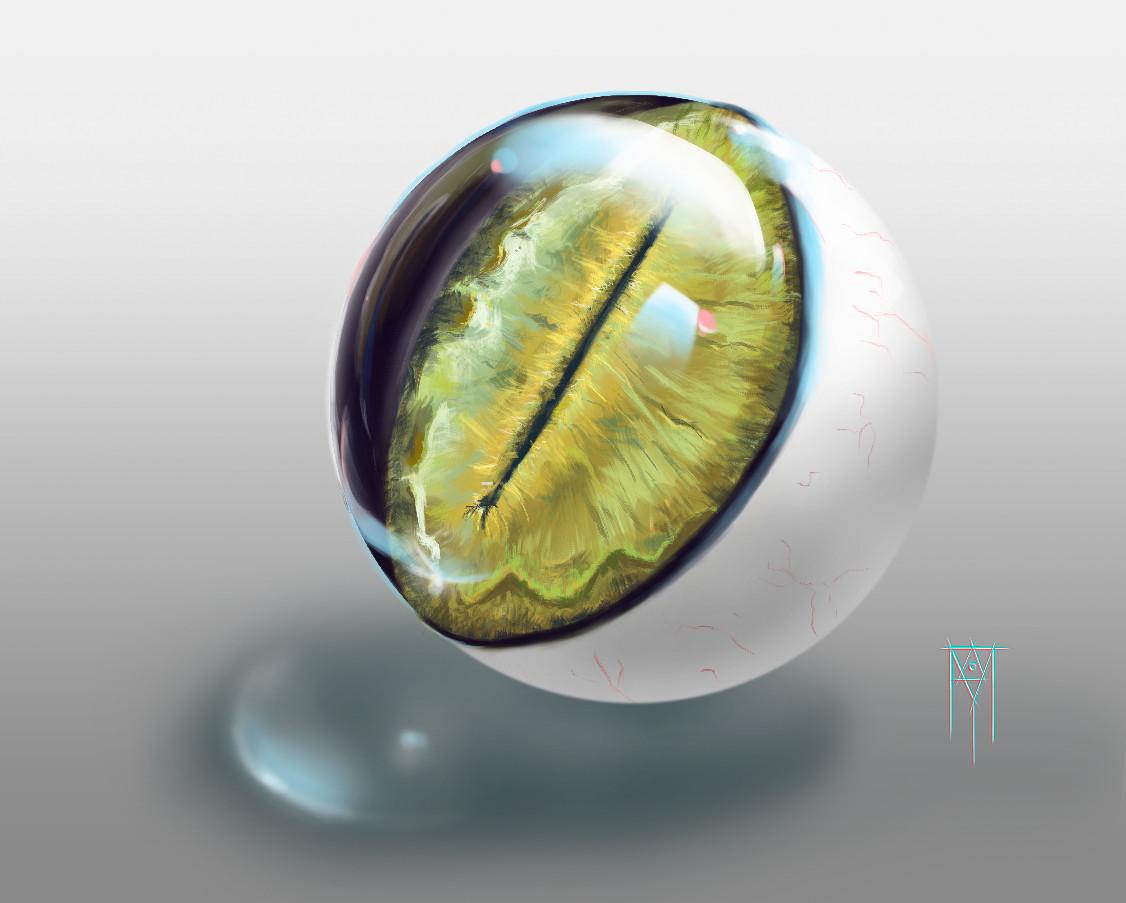 Marcos mansur cat eye
