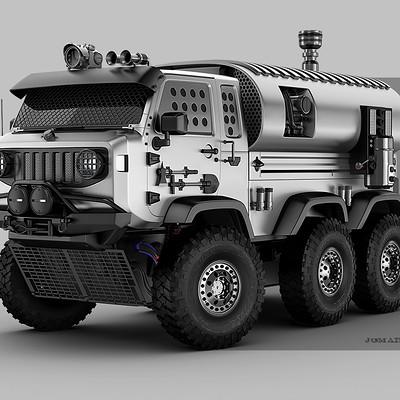 Jomar machado mini war truck peq