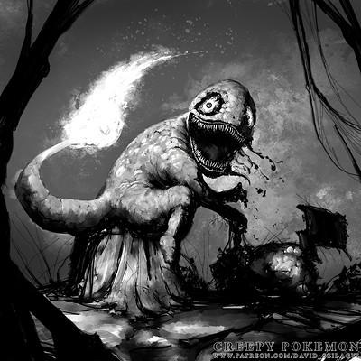 David szilagyi 004 charmander davidszilagyi creepypokemon lowres